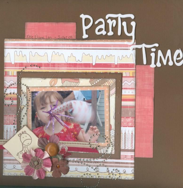 Décembre 2009: un sujet commun plusieurs pages Partytime