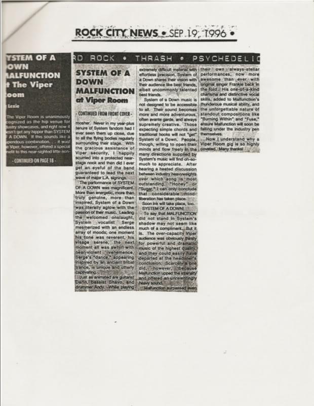 Интервью с первым ударником System Of A Down Andy Khachaturian SOAD_RockCity5