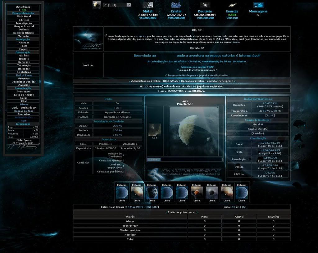 Sobre evolução de OuterSpace® OS_Evoluo