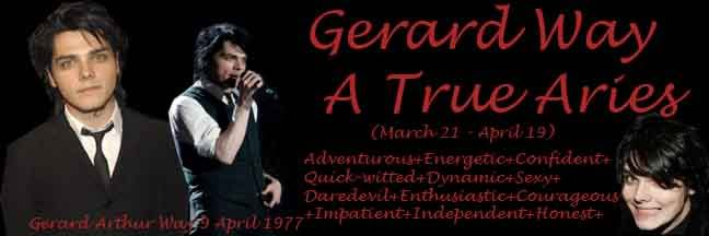 new DVD coming out 2008 [rumors] GerardWayAriesbanner