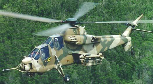 Hélicoptères de combats Rooivalk2