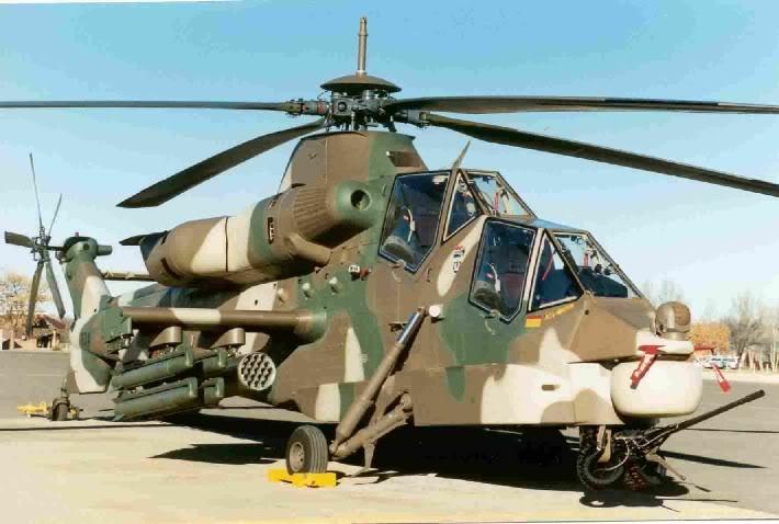 Hélicoptères de combats Rooivalk5