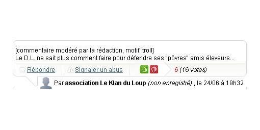 L'actualité du loup en France Censure_dl2