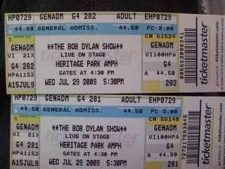 My Birthday present (me at the Bob Dylan concert) 0716091953