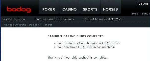 I actually cashed on a casino bonus Casnecash