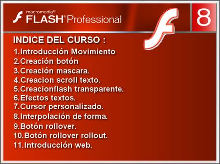 VideoTutoriales para aprender de una forma sencilla FLASH