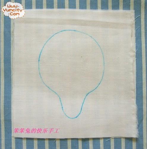 [Cách làm] Búp bê vải đáng yêu Bb2
