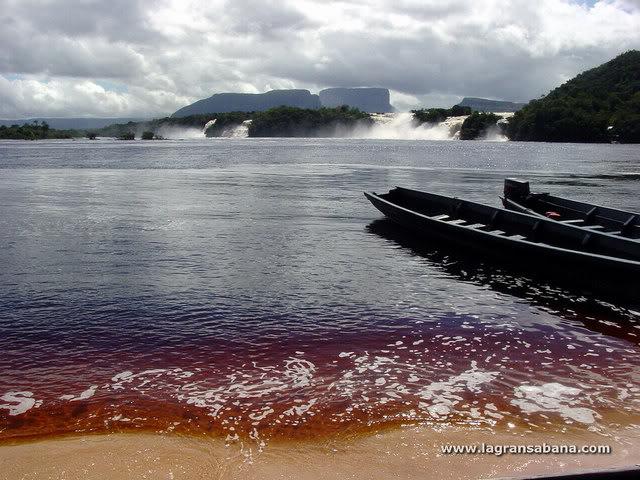 Rincones de mi patria, si se puede hacer turismo en Vzla Laguna