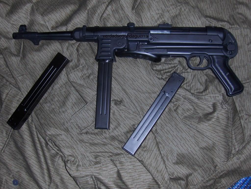 Ametralladora MP40 4133