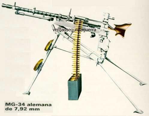 Maschinengewehr 34 MG34 44214