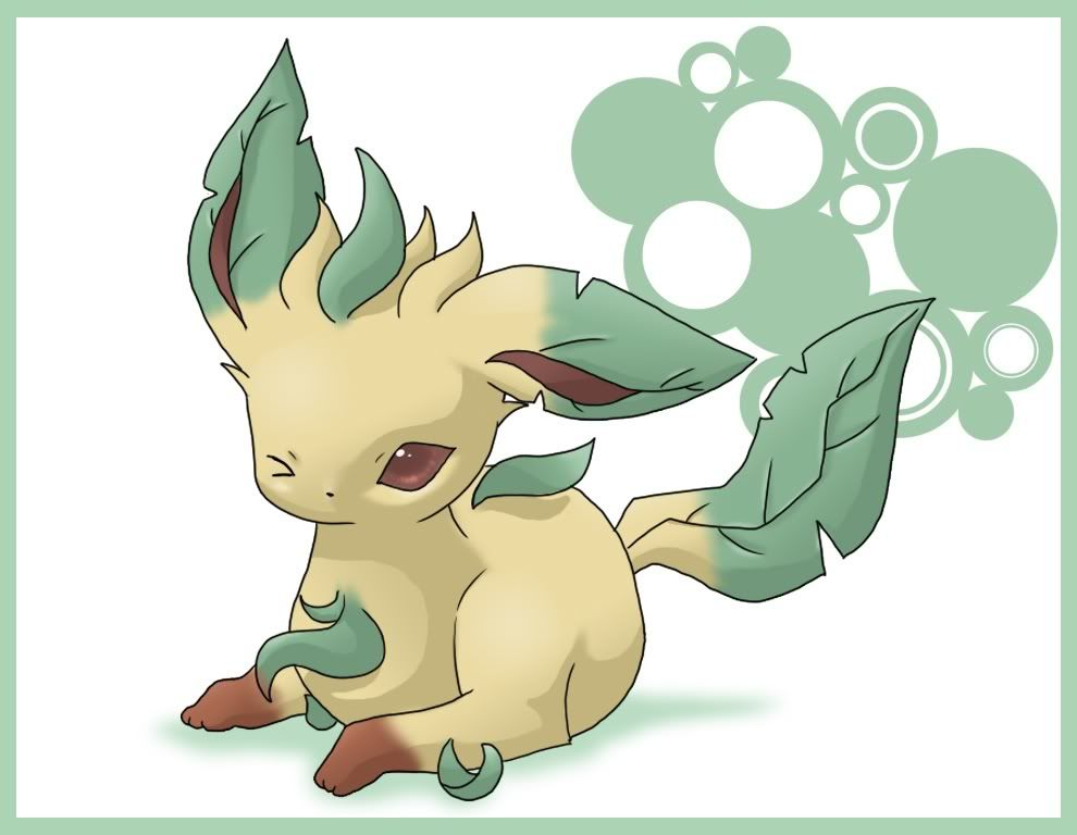 ¡Bienvenidos! Leafeon-pokemon-chibis-7556615-990-768