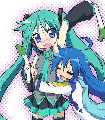 Lucky Vocaloidx3 Pictures, Images and Photos