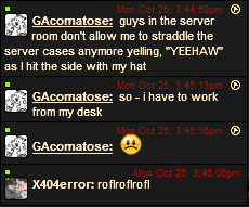 Chat Box Oddities Gacoma