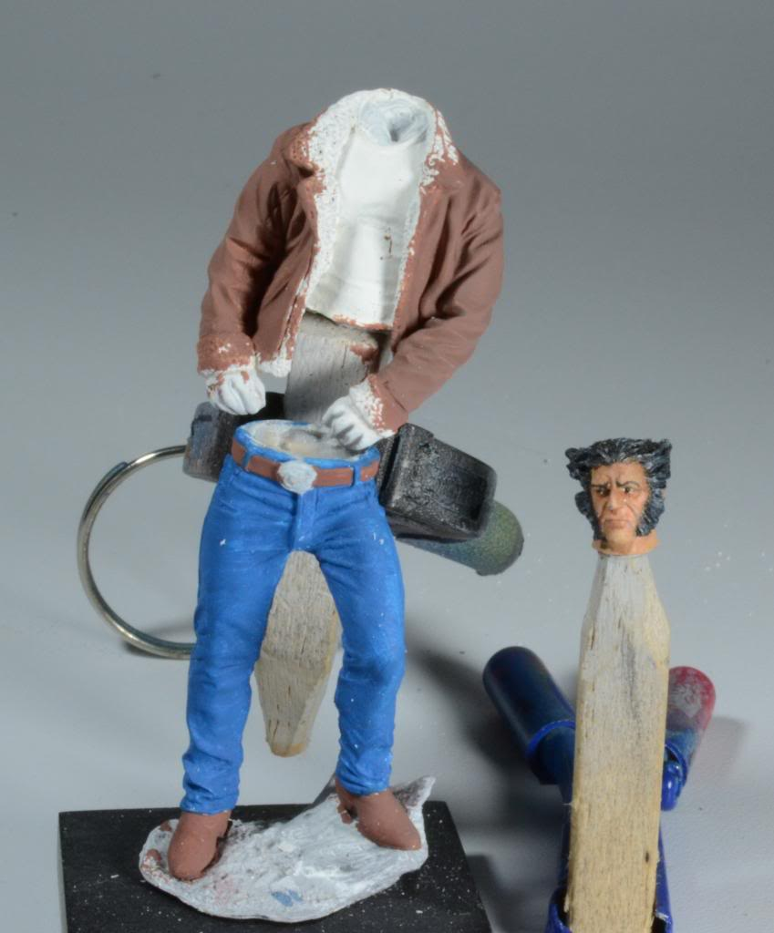 Wolverine - Knight Models - Résine 70mm- Acryliques DSC_0158_zps407922ec