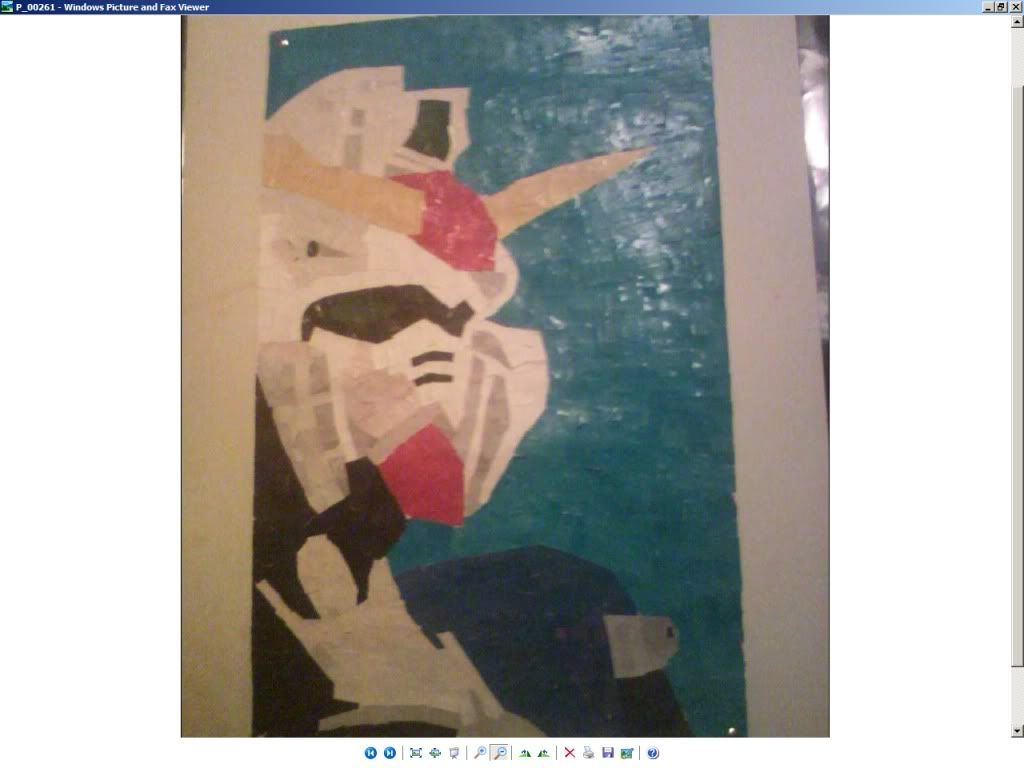 what do u do in ur art class? Gundam