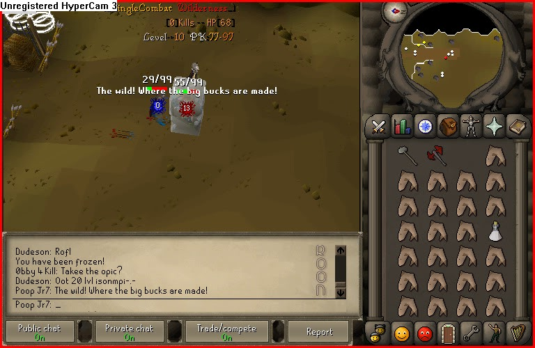 ROONSCAPE PK 317 OLDSCHOOL! ROONSCAPE.SERVEGAME.ORG  Wild