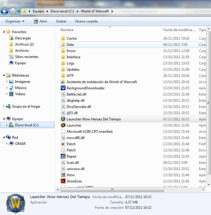 ~WoW Heroes del Tiempo Launcher y Parche Custom Beta~ ScreenShot005