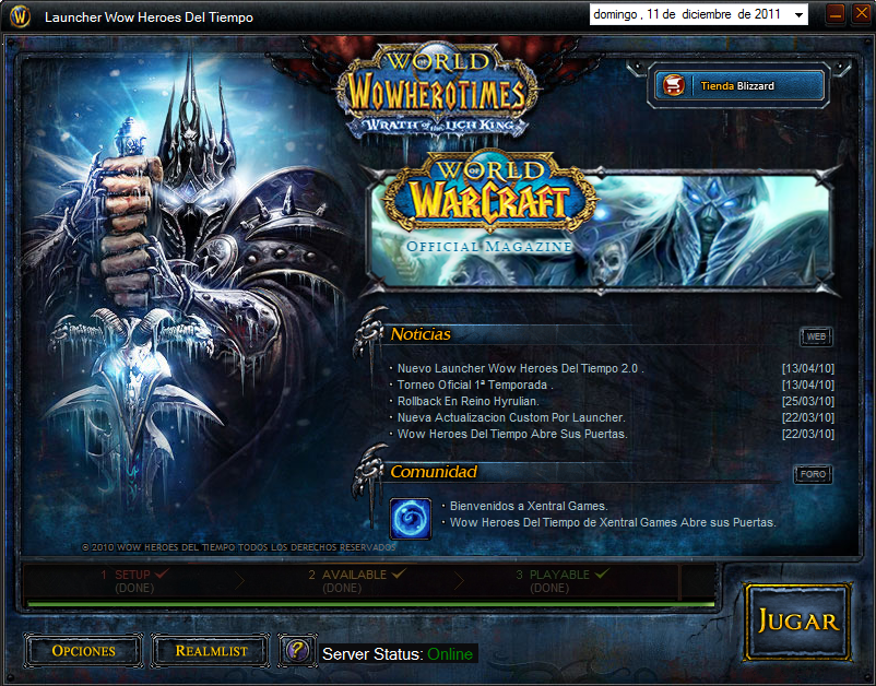 ~WoW Heroes del Tiempo Launcher y Parche Custom Beta~ ScreenShot007