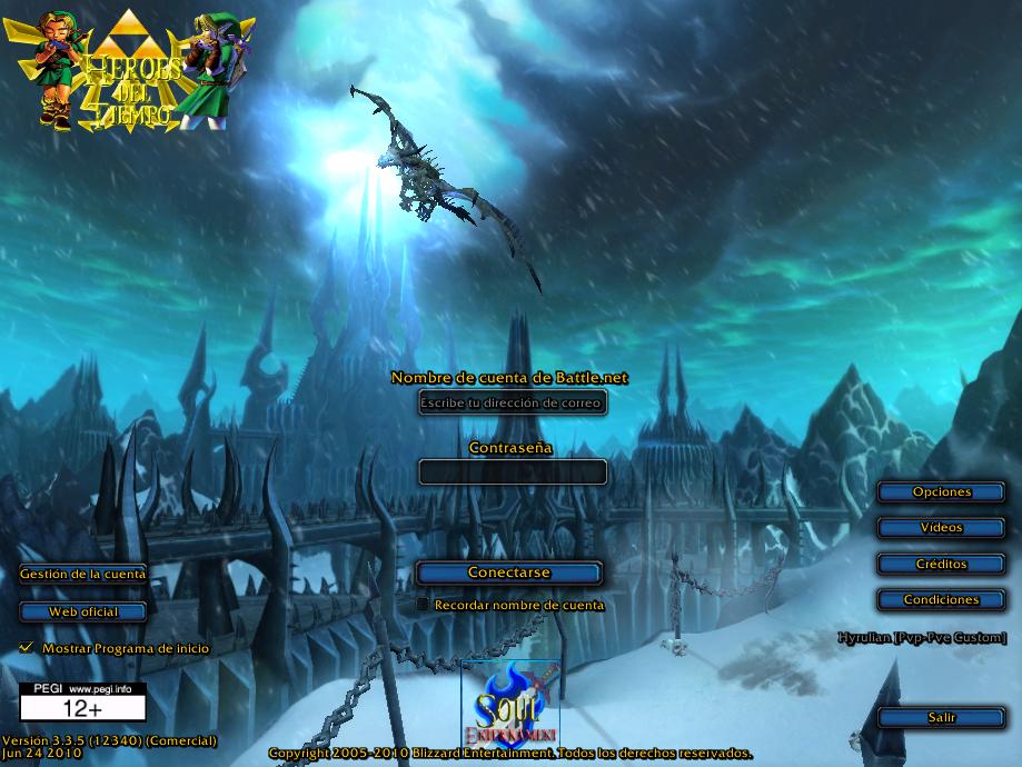 ~WoW Heroes del Tiempo Launcher y Parche Custom Beta~ ScreenShot008