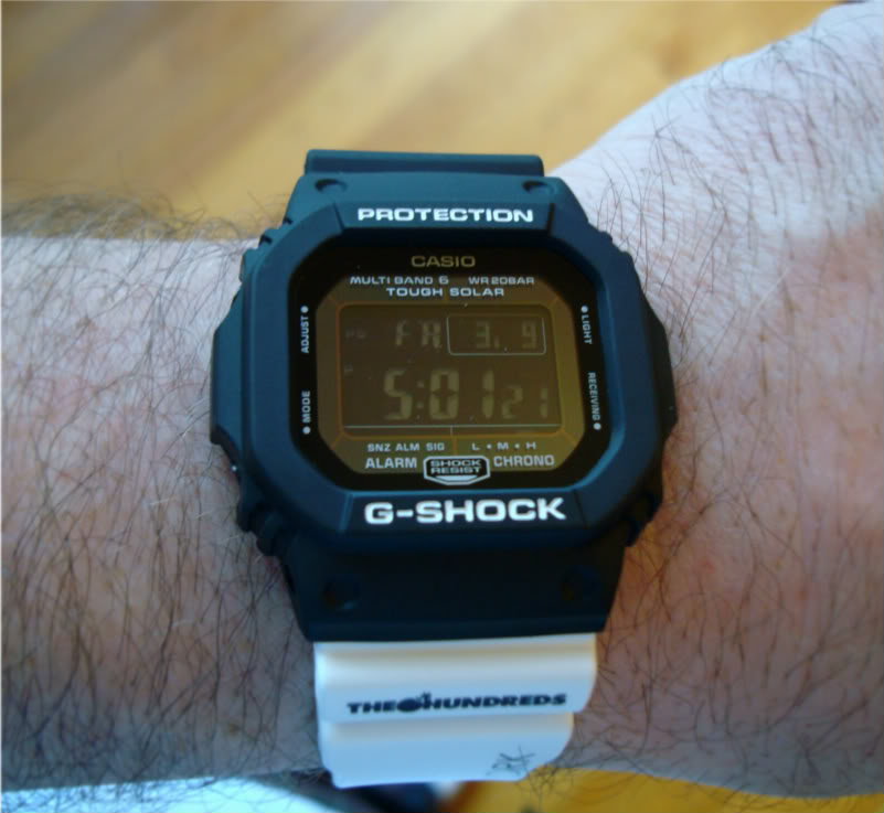 """The latest off of the G-Shock wave ... """"The Hundreds"""" Limited Edition DSC00187"""