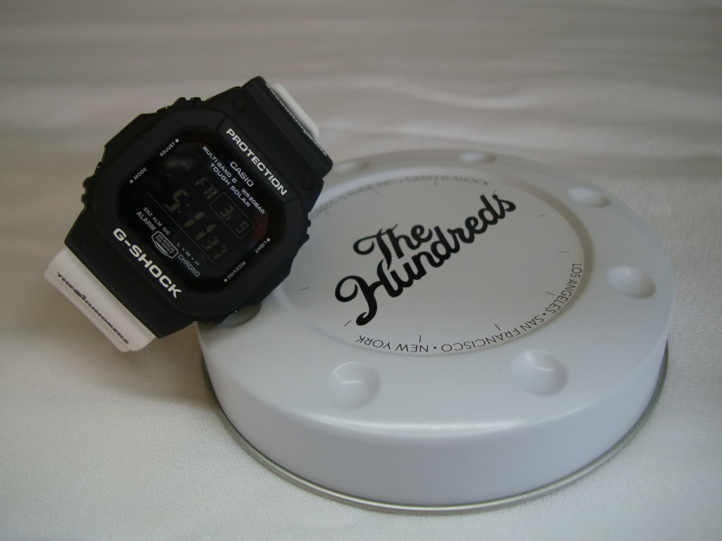 """The latest off of the G-Shock wave ... """"The Hundreds"""" Limited Edition DSC00193"""
