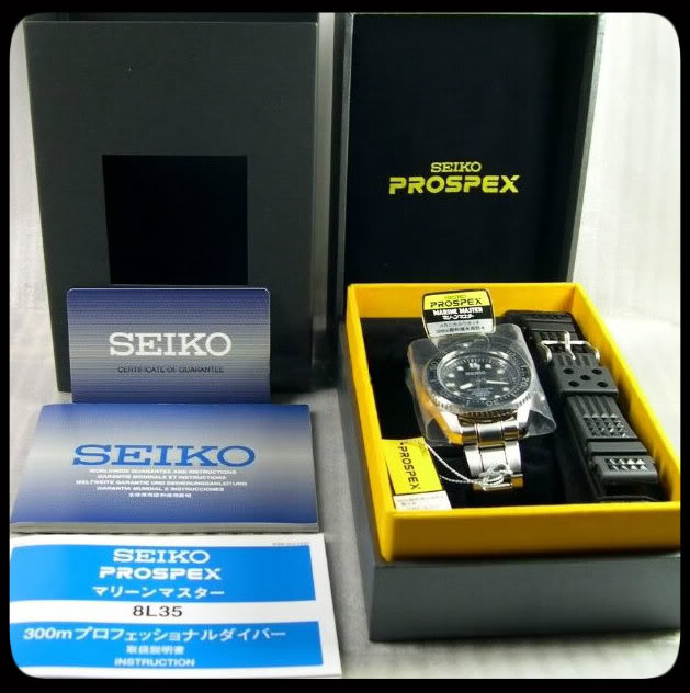 Watch Review: Seiko Marinemaster Professional 300m Diver (SBDX001)  Package00