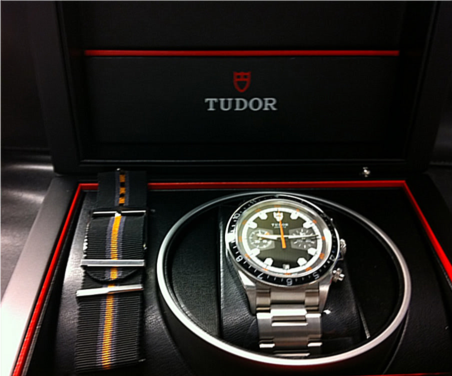 "Tudor Heritage Chronograph - a not so ""mini"" mini-review! Eb4af587"