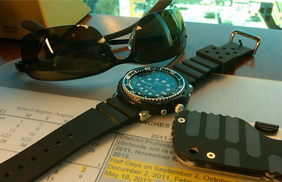 A pile of Seikos and nothing to do... H601