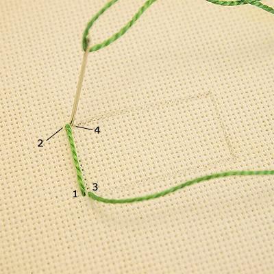 Tutorial de bordado para principiantes 001-1