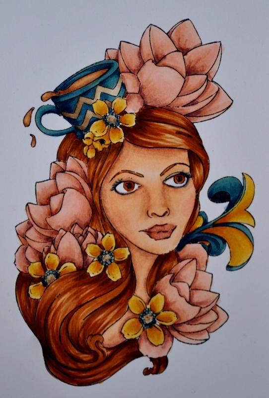 première colorisation d'une Prima Bloom Girl DSC_2835