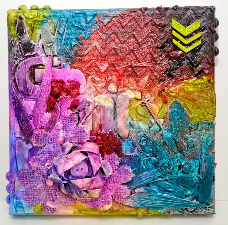 16 mars: toile Mixt Media / peinture silk pour atelier du crop DSC_1665
