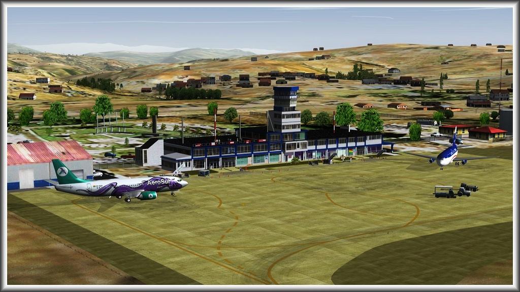 La Paz (SLLP) - Sucre (SLSU) Screenshot26Oct011456