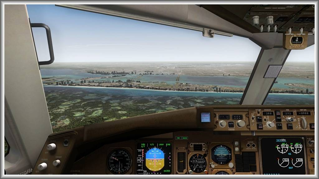 Santiago (SCEL) - Miami (KMIA) Screenshot31Oct071910
