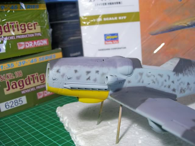 Messerschmitt Bf 109 G-6 Hasegawa 1/32 Alfred Grislawski - Página 2 AplicaciondecamuflageRLM753