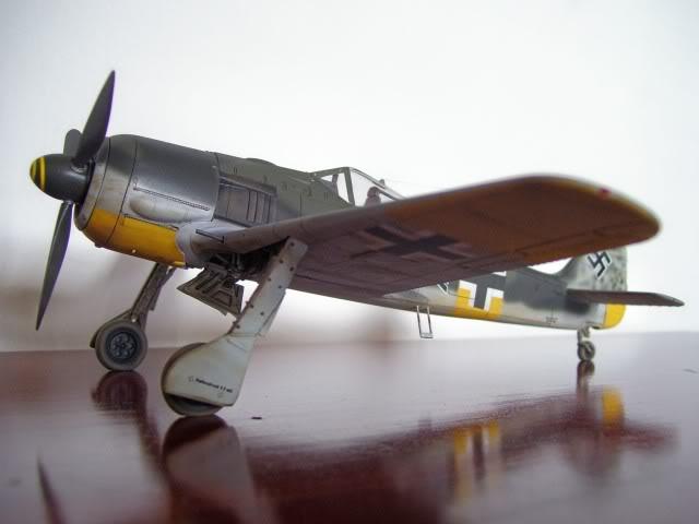 Focke Wulf 190 A-5 Walter Nowotny Hasegawa 1/48 FockeWulfTerminado1