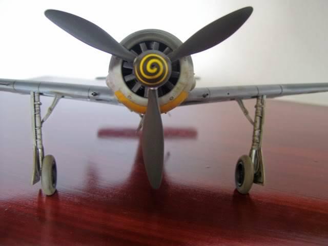 Focke Wulf 190 A-5 Walter Nowotny Hasegawa 1/48 FockeWulfTerminado11
