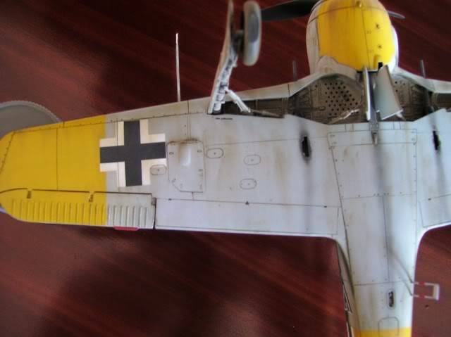 Focke Wulf 190 A-5 Walter Nowotny Hasegawa 1/48 FockeWulfTerminado13