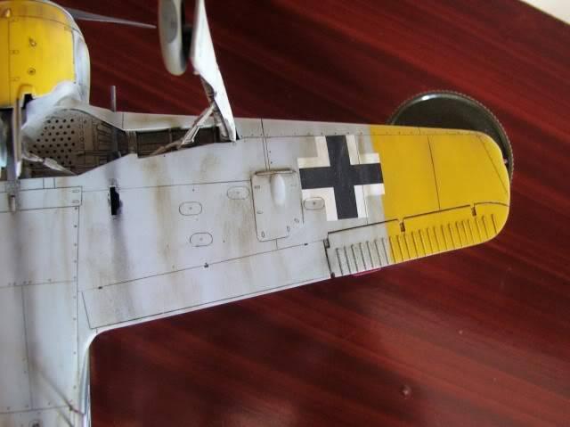 Focke Wulf 190 A-5 Walter Nowotny Hasegawa 1/48 FockeWulfTerminado14