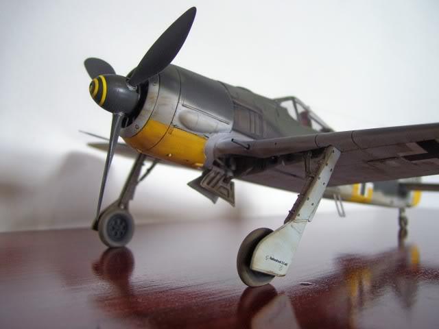 Focke Wulf 190 A-5 Walter Nowotny Hasegawa 1/48 FockeWulfTerminado2
