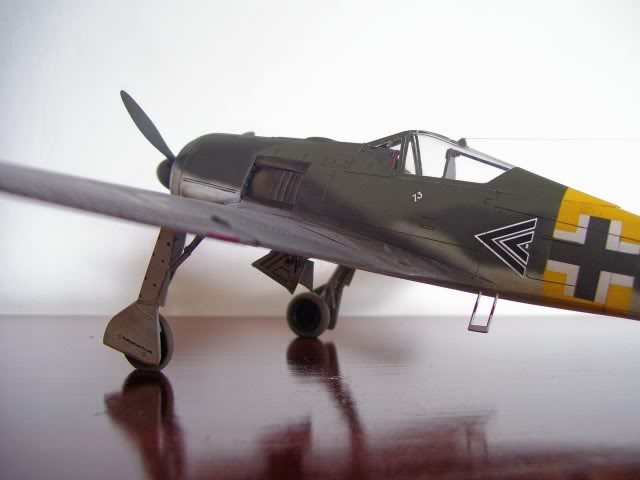 Focke Wulf 190 A-5 Walter Nowotny Hasegawa 1/48 FockeWulfTerminado3