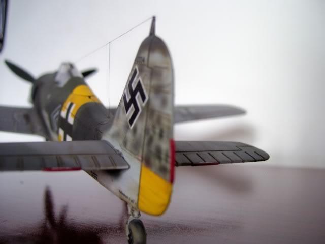 Focke Wulf 190 A-5 Walter Nowotny Hasegawa 1/48 FockeWulfTerminado5