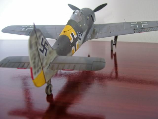 Focke Wulf 190 A-5 Walter Nowotny Hasegawa 1/48 FockeWulfTerminado6