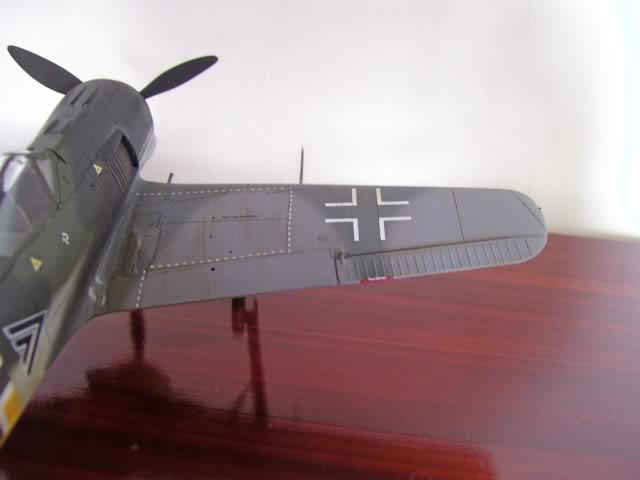 Focke Wulf 190 A-5 Walter Nowotny Hasegawa 1/48 FockeWulfTerminado7