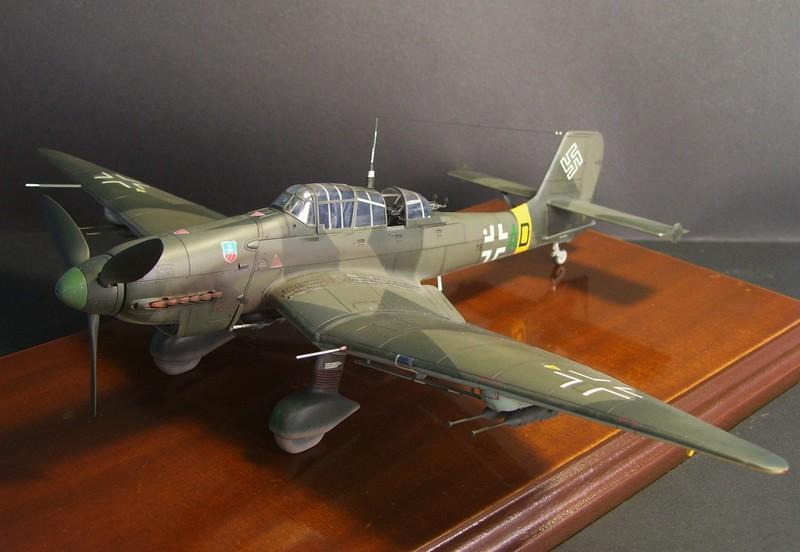 Junkers Ju-87 D-5 Stuka (Hasegawa 1/48). Ju87d5Stuka%201