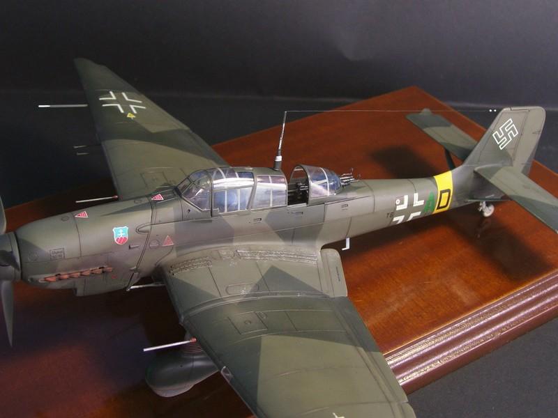 Junkers Ju-87 D-5 Stuka (Hasegawa 1/48). Ju87d5Stuka%205