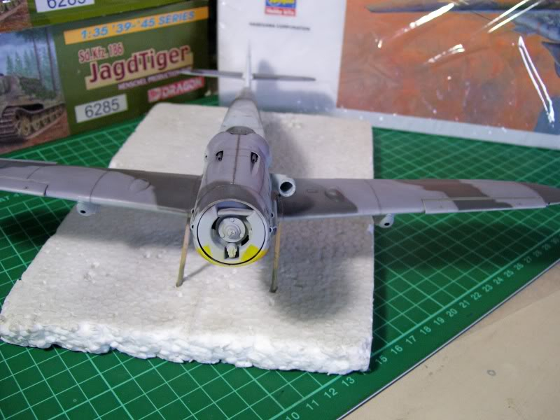 Messerschmitt Bf 109 G-6 Hasegawa 1/32 Alfred Grislawski - Página 2 Post-sombreado10