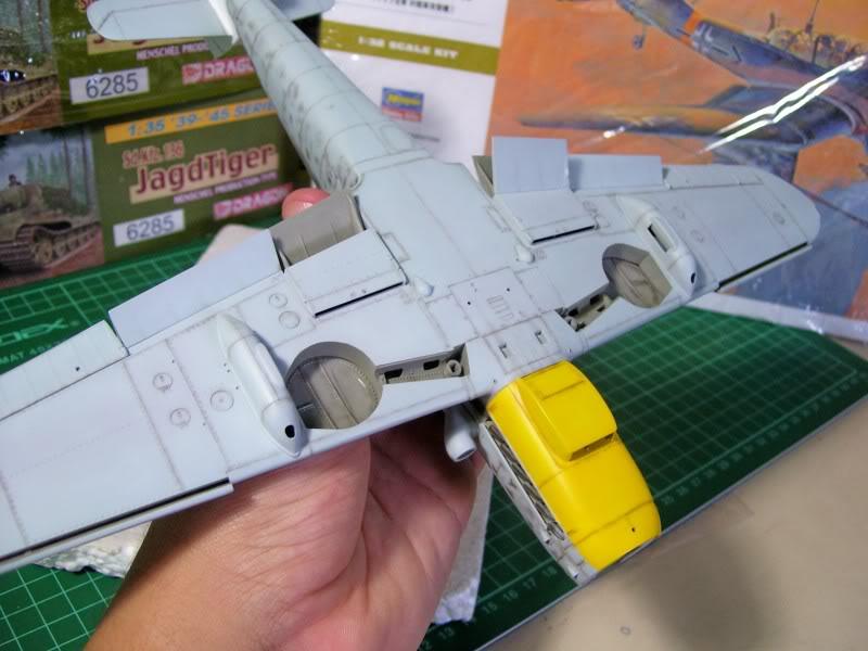 Messerschmitt Bf 109 G-6 Hasegawa 1/32 Alfred Grislawski - Página 2 Post-sombreado11