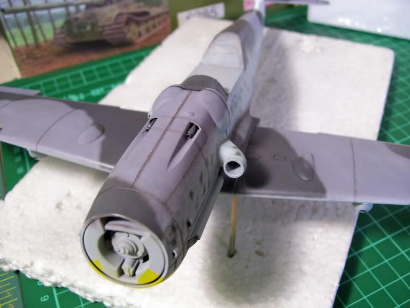 Messerschmitt Bf 109 G-6 Hasegawa 1/32 Alfred Grislawski - Página 2 Post-sombreado14
