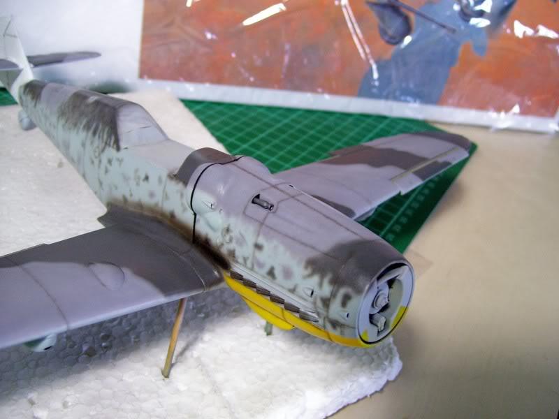 Messerschmitt Bf 109 G-6 Hasegawa 1/32 Alfred Grislawski - Página 2 Post-sombreado15