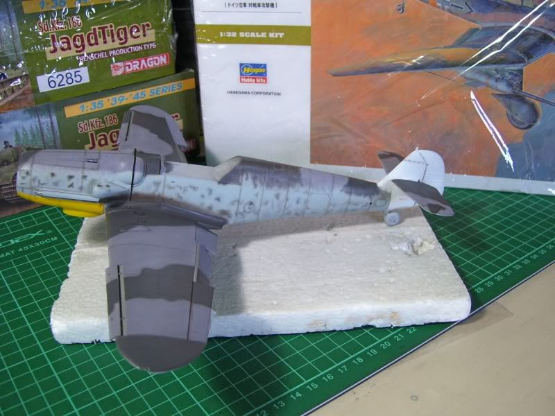 Messerschmitt Bf 109 G-6 Hasegawa 1/32 Alfred Grislawski - Página 2 Post-sombreado2